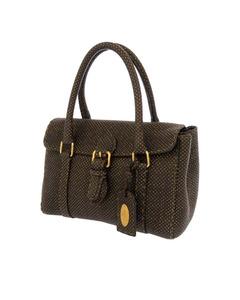 Fendi Mini Selleria Linda Handbag Brown