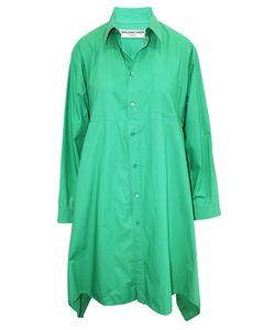 Grünes Hemdkleid
