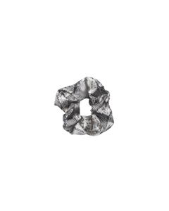 Snake Scrunchie Grey