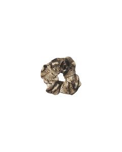 Snake Scrunchie Brownish