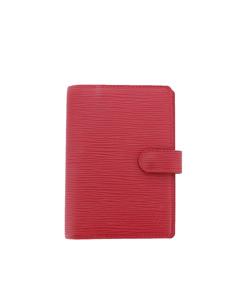 Louis Vuitton Epi Agenda Pm Red