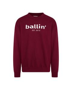 Ballin Est. 2013 Basic Sweater Rood