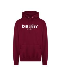 Ballin Est. 2013 Basic Hoodie Rood