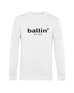 Ballin Est. 2013 Basic Sweater Wit