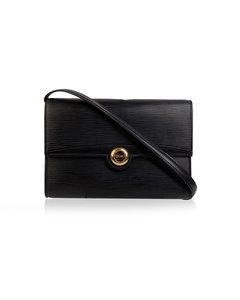 Louis Vuitton Vintage Black Epi Leather Pochette Arche Shoulder Bag