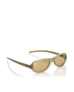 Prada Square Tinted Sunglasses Brown