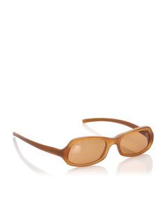Prada Square Tinted Sunglasses Brown
