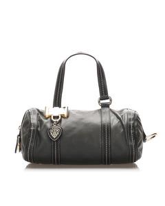 Gucci Mini Duchessa Leather Boston Bag Black