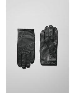 End Leather Gloves Black