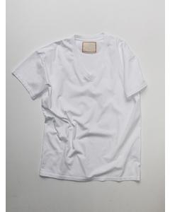 V-neck T-shirt White