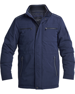 Jacket With Reflective Details Navy