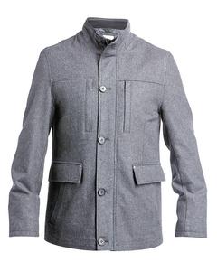 Wool Safari Jacket Grey
