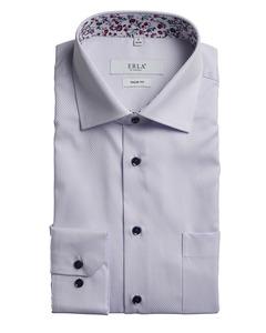 Long Sleeve Dobby Shirt Purple