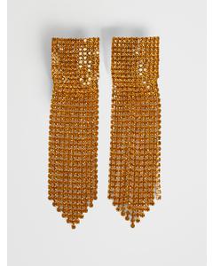 Studio Square Earrings Gold