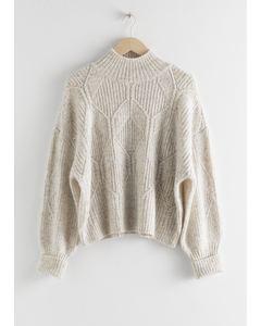 L2 Banger Sweater White