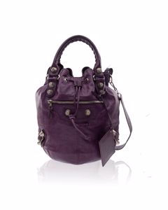 Purple Motocross Giant 12 Mini Pompon Bag