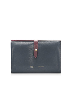 Celine Small Multifunction Strap Wallet Black