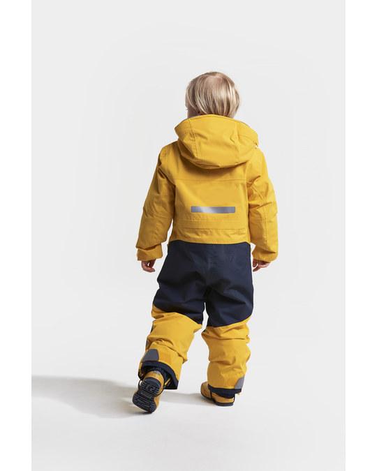 Didriksons Aslan Kids Coverall Oat Yellow