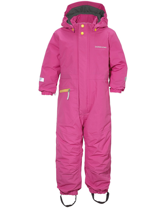 Didriksons Tysse Kids Coverall2 Plastic Pink