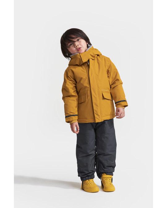 Didriksons Ostronet Kids Jkt Yellow Ochre