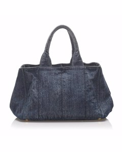 Prada Denim Handbag Blue
