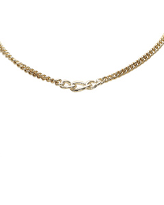 Dior Rhinestone Studded Gold-tone Choker Gold