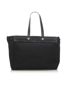 Hermes Herbag Cabas Mm Black