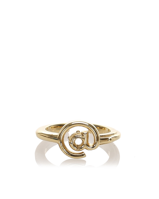 Louis Vuitton Louis Vuitton Lv And Me Ring Gold