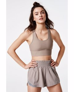Energy Sports Bra  Taupe