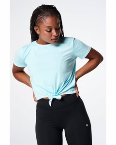 Knot Me T-shirt  Turquoise
