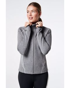 Warm Up Jacket  Grey Melange