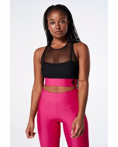 Cool It Sports Bra  Black/pink