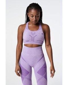Spectrum Bralette Seamless  Purple Melange