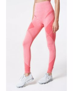 Sculpt Tights Seamless  Coral Melange
