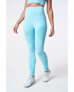 Sculpt Tights Seamless  Turquoise Melange
