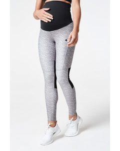 Flourish Mama Tights  Grey/grey