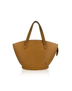 Louis Vuitton Vintage Yellow Epi Leather Saint Jacques Pm Bag