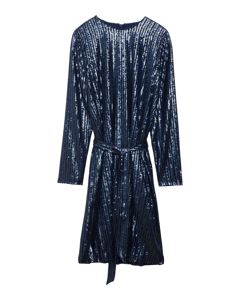 Britta Sequin Dress  Navy