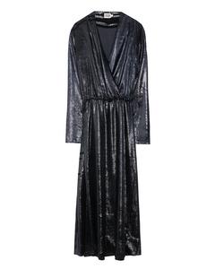 Malena Dress  Black Glitter