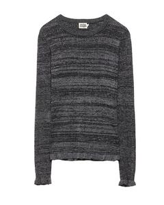 Beata Lurex Sweater  Black