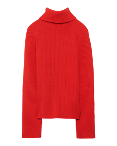 Irene Turtleneck Red
