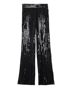 Judi Sequin Trousers  Black