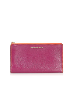 Burberry Leather Pouch Pink