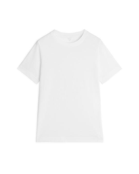 Arket Crew-Neck T-shirt White