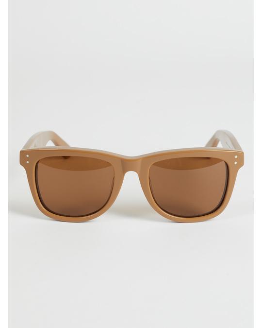 Arket Wellington Acetate Sunglasses Beige