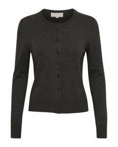 Rita Cardigan Dark Grey Melange