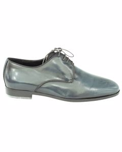 Plain Toe Oxford Lace Up Shoes