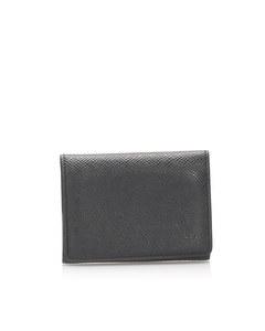 Louis Vuitton Taiga Business Card Holder Black
