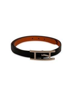 Hermes Svarta Läderarmband Modell: Bracelet