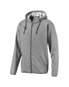 Liga Casual Hoody Jacket-655771 33 Medium Gray Heather